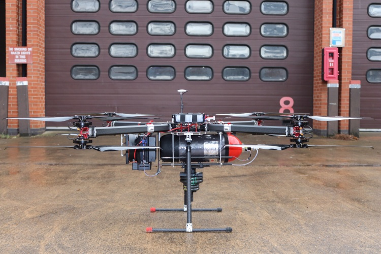 Hydrogen powered drone exceeds one hour of continuous flight