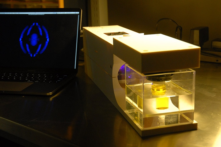 Light based 3D printer