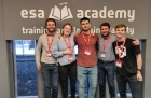 Engineering students master space with European Space Agency