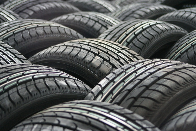 Recycled tyre fibres