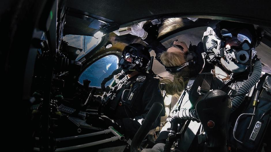 Sir Richard Branson's Virgin Galactic flies higher and faster than ever before