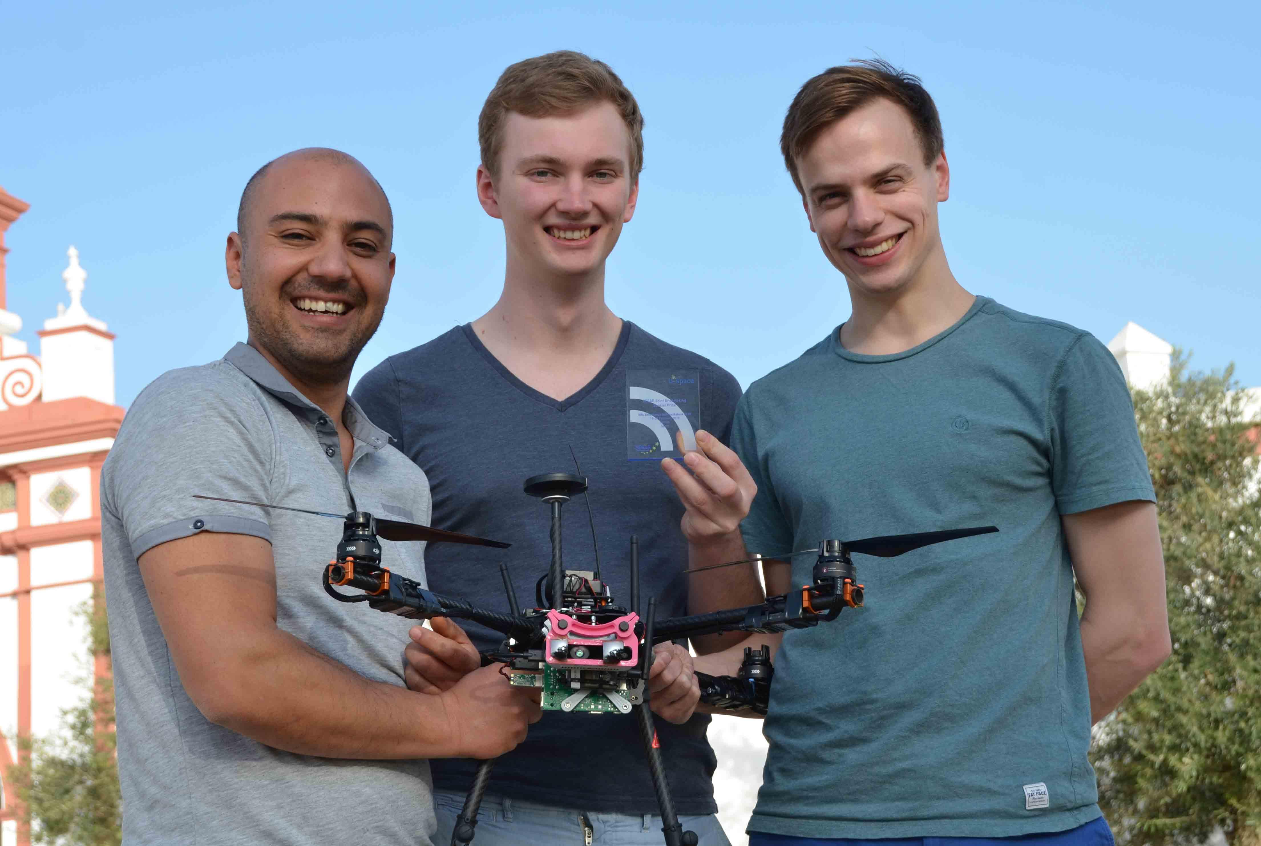 Bath drone squad takes home European robotics prize