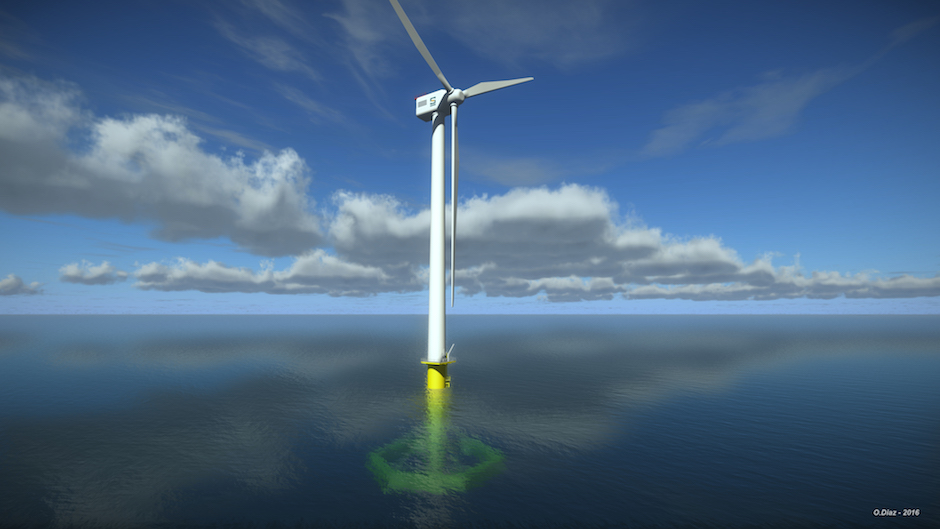 EMEC announces €31 million floating wind trial off Irish coast
