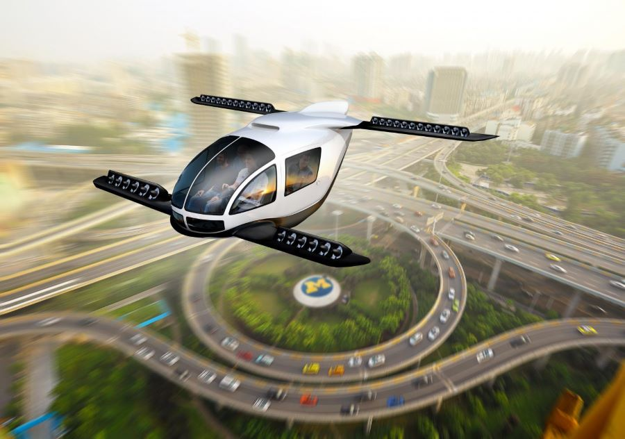 Study highlights sustainable role for VTOL aircraft