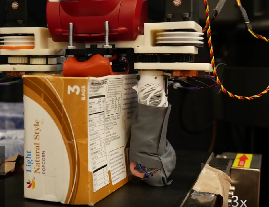 RoCycle robot gets a feel for paper, metal and plastic