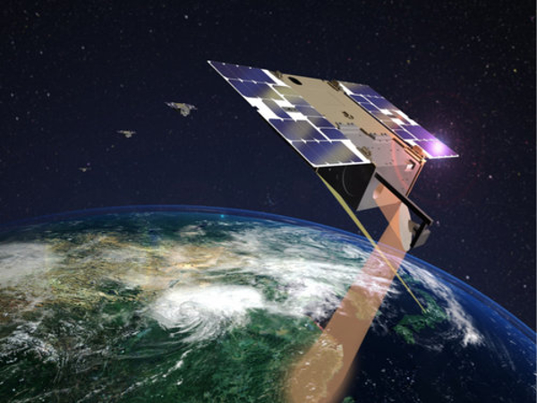 Cubesat carries first 3D-printed space antenna