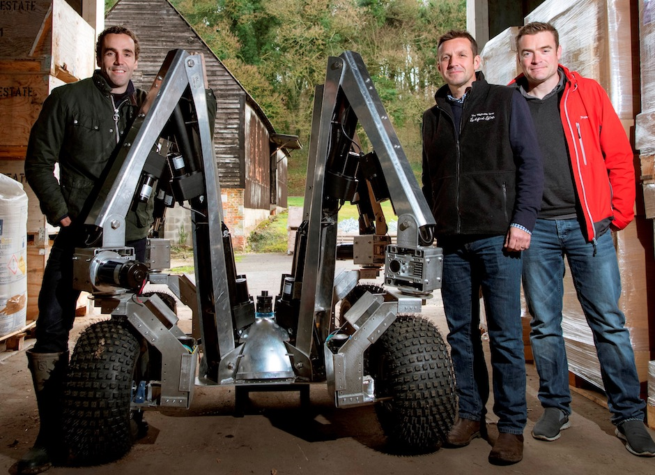 UK engineers usher in farm 4.0 with agribot trial