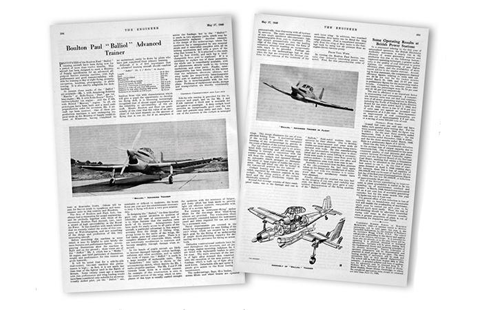 May 1949: The Boulton Paul Balliol