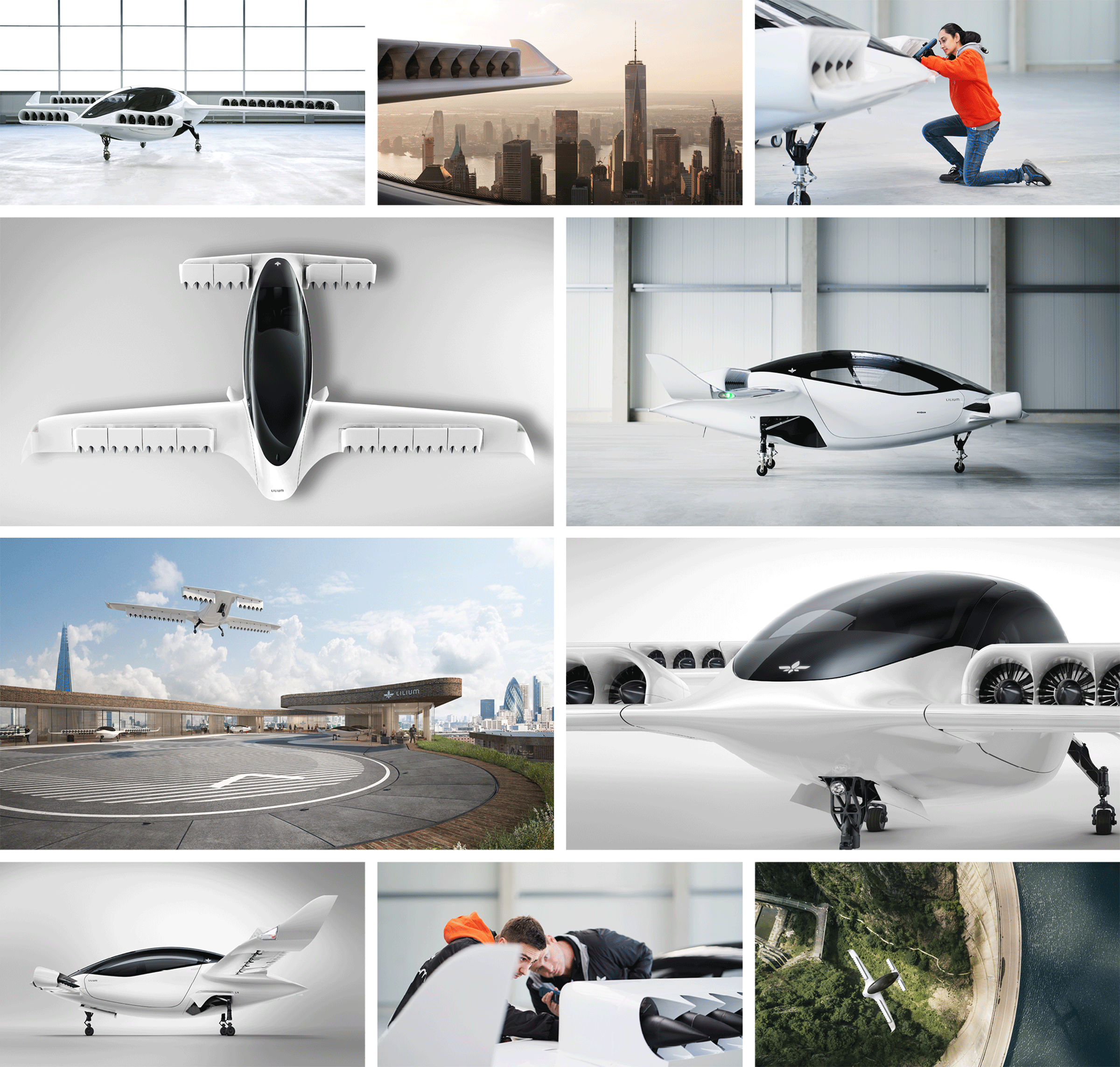 Five-seater electric air-taxi lifts off in Munich