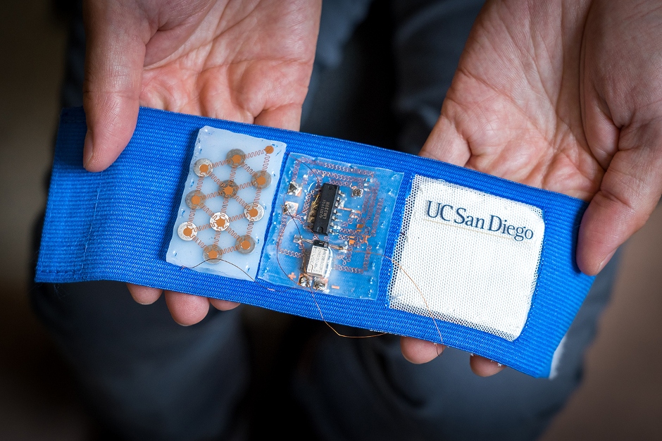 Wearable patch offers personalised temperature regulation