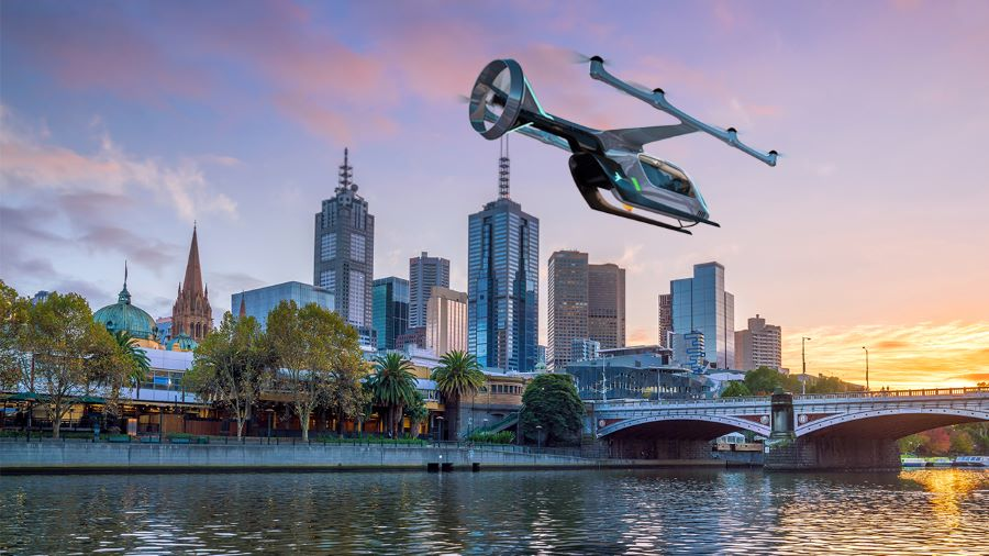 Uber targets Melbourne for air taxi service
