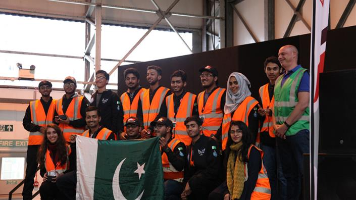 Pakistan's AirWorks Beta wins IMechE drone competition