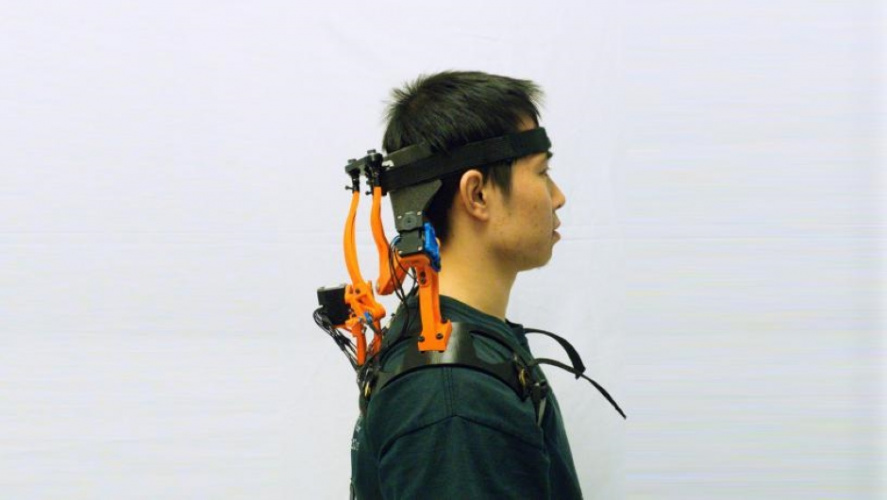 Robotic neck brace gives support to people with ALS