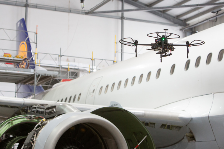 Repairs on high: engineering innovation in aircraft maintenance