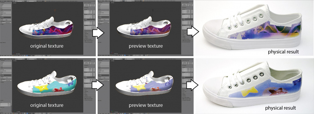 PhotoChromeleon offers colour customisation