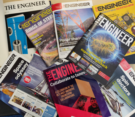 The Engineer print relaunch