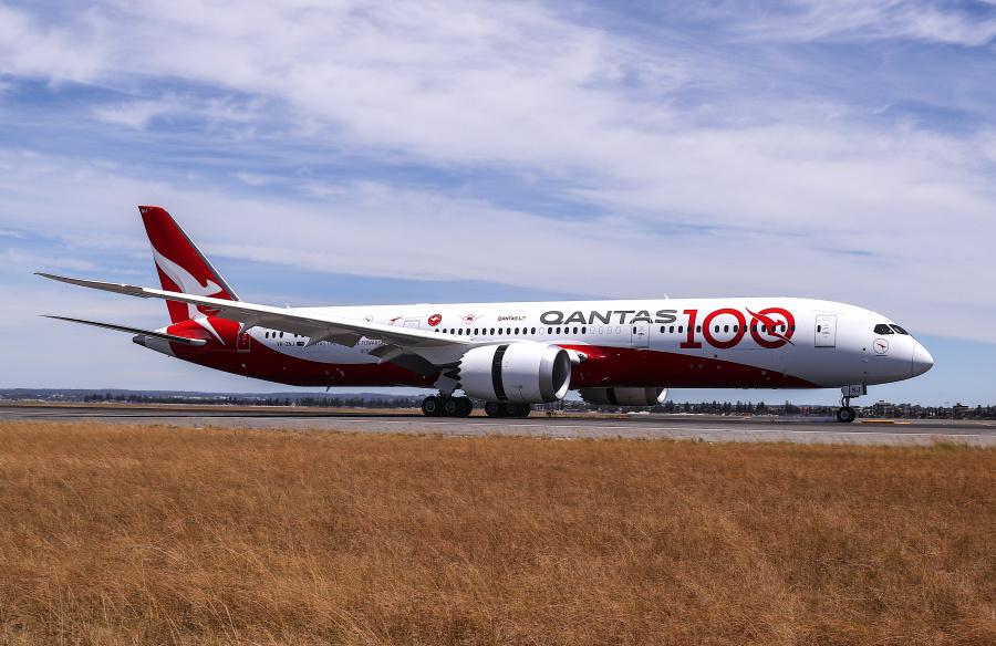 Qantas flies London-Sydney direct in research flight