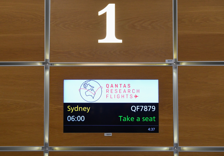 Qantas flies London-Sydney direct in research flight