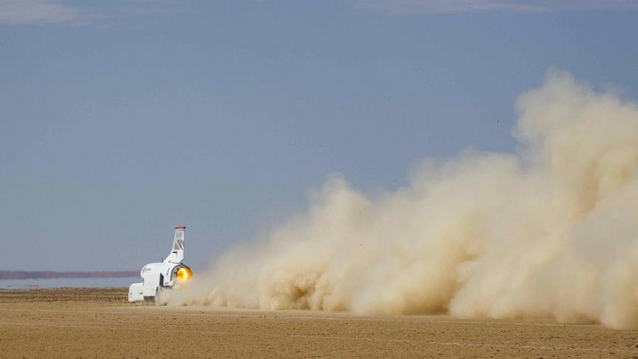 Bloodhound tops 1,000 km/h in final Kalahari test