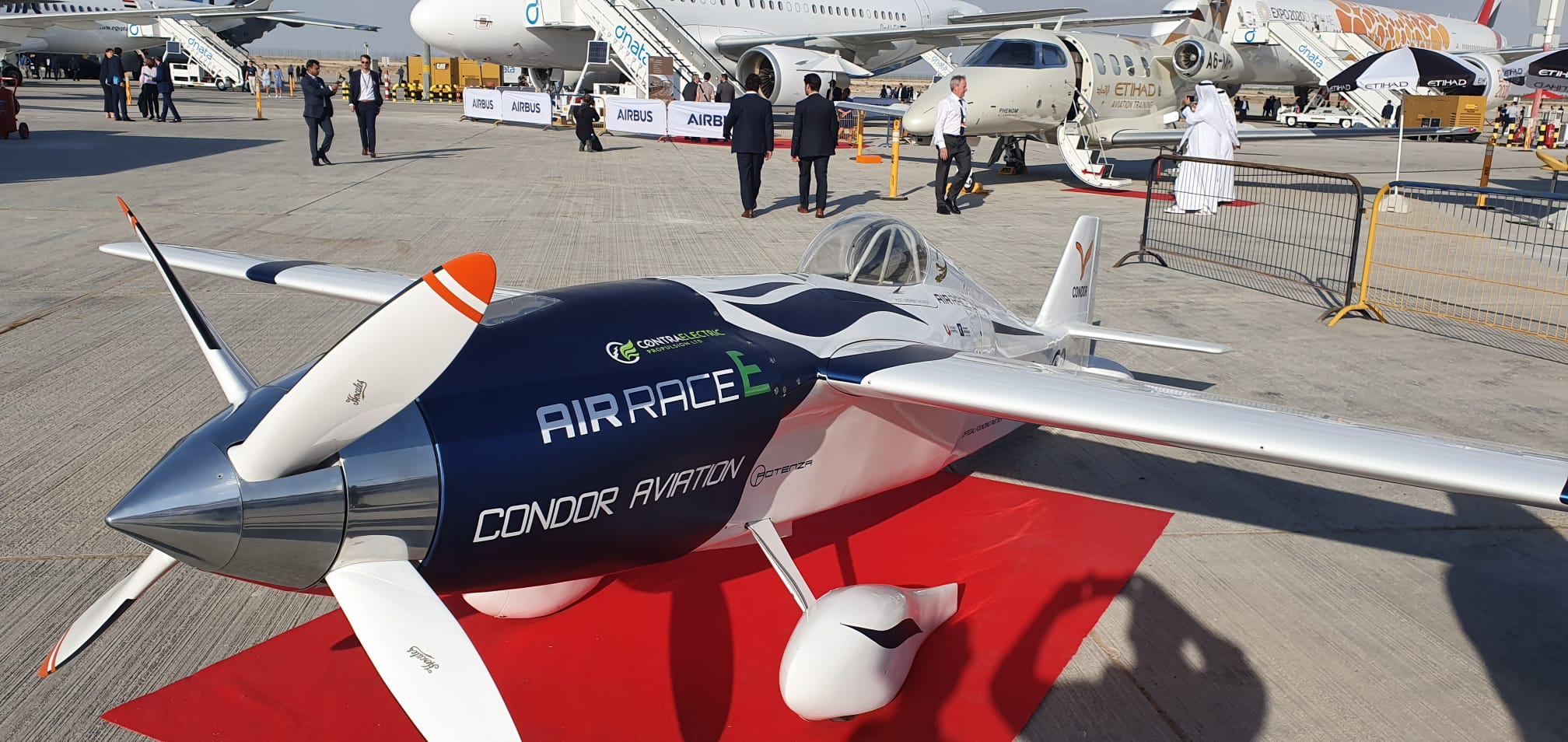 Teams announced for world's first electric air race