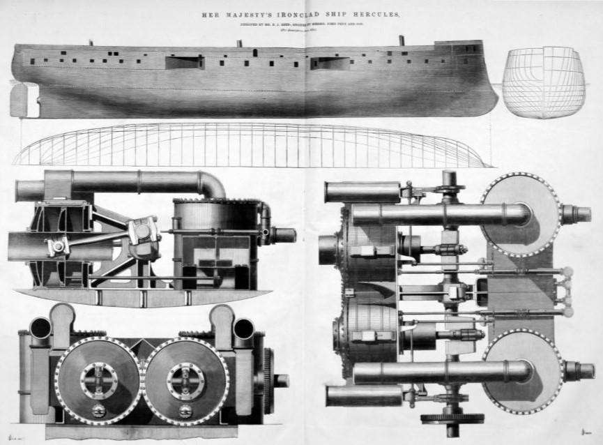 November 1867: HMS Hercules