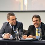 Geoff Nicolas and Phil Beckett