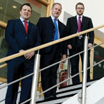 Ben Turner, Peter Seary and Richard Waugh