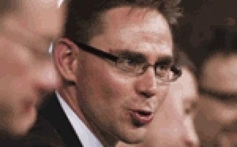 Finland Prime Minister Jyrki Katainen