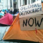 Occupy London Stock Exchange (LSX) protestors