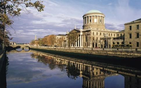 four courts dublin ireland