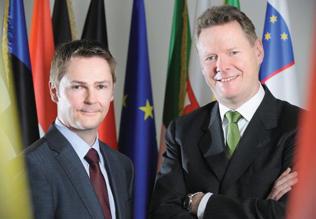 (l-r) Ralf Jansen, David Eatough