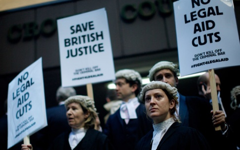 Barristers strike