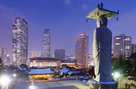 south korea city