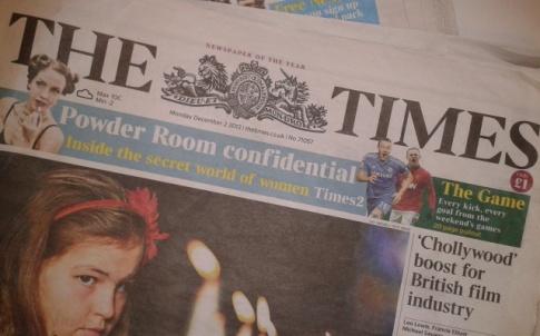 times newspaper