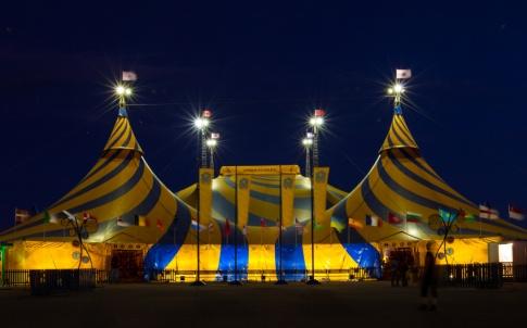 Cirque du Soleil circus tent