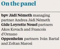 On panel