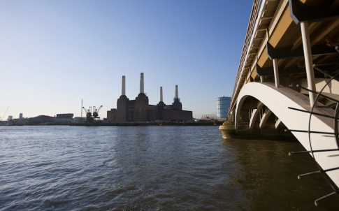 View of Battersea Power Station