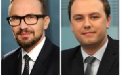 Rafał Zięba, co-managing partner, and Szymon Gałkowski, partner, head of the banking, finance and restructuring department
