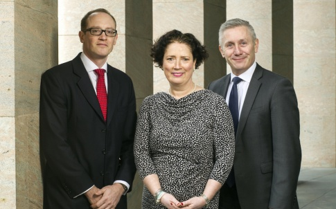 Irwin Mitchell's private client team: Nick Rucker, Ursula Danagher, Craig Marshall