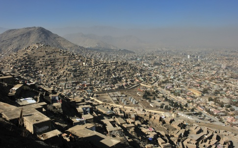 Kabul city view