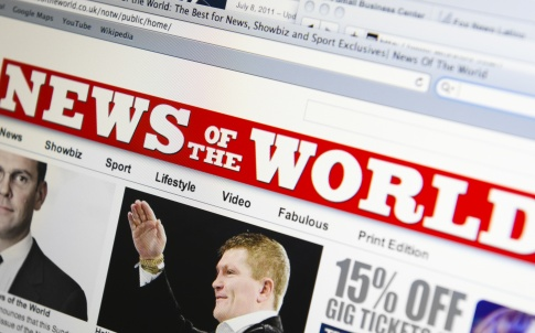 News of the world online newspaper