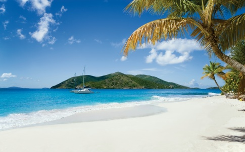 Beach on the British Virgin Islands
