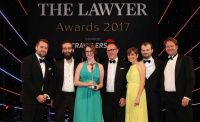The Lawyer Awards 2017 Boutique Law Firm winner Kemp Little