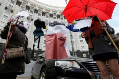 Украинские проститутки вышли на марш