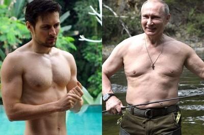 И чей голый торс в конце концов окажется самым крутым?