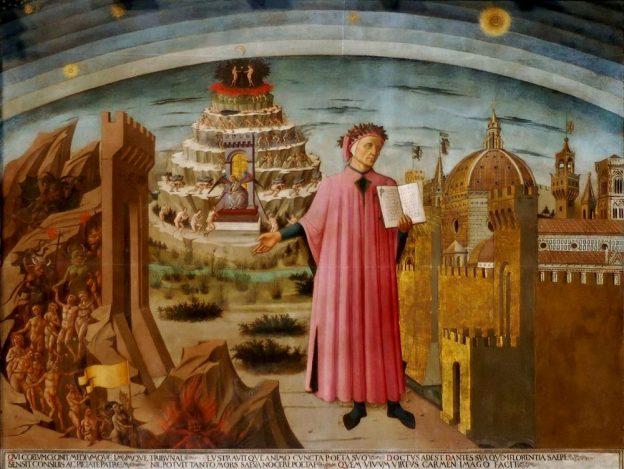 Dante Domenico di Michelino Duomo Florence