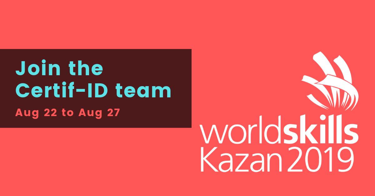 Wordskill Kazan 2019