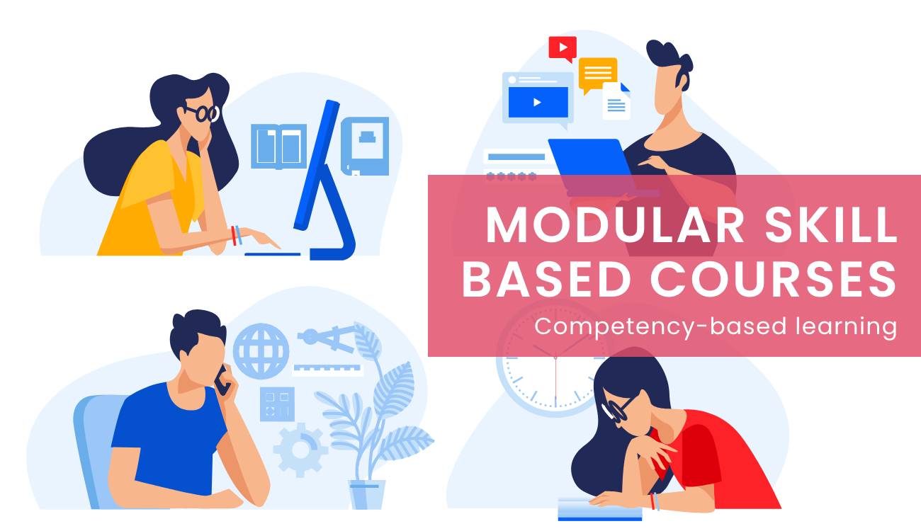 Modular Courses to Bridge the Skills Gap