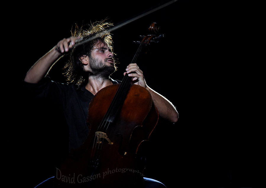 Classical music photography  Stjepan Hauser in concert at Pula arena