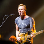 Picture of Sting in concert by Bulgaria music photographer Stan Srebar